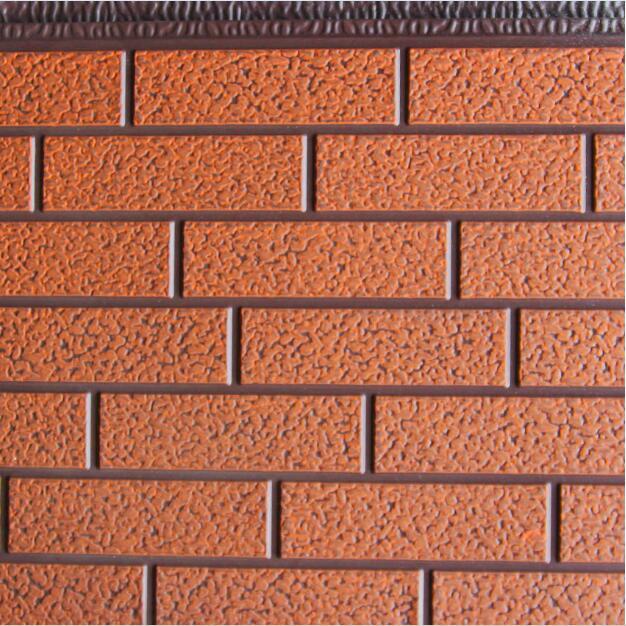 标准砖纹浅棕沙滚桔红