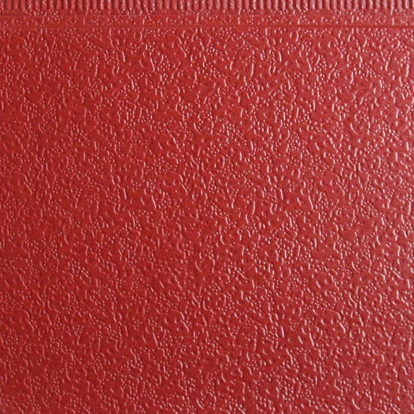 金属雕花板弹涂纹网纹红