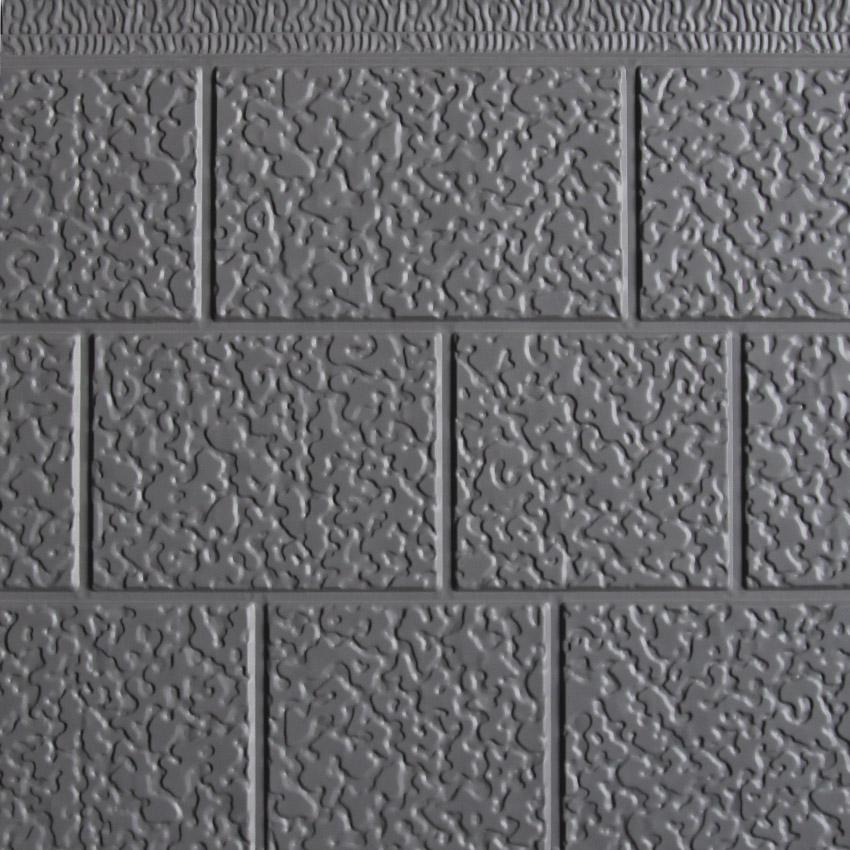 三块砖金属雕花板浅灰
