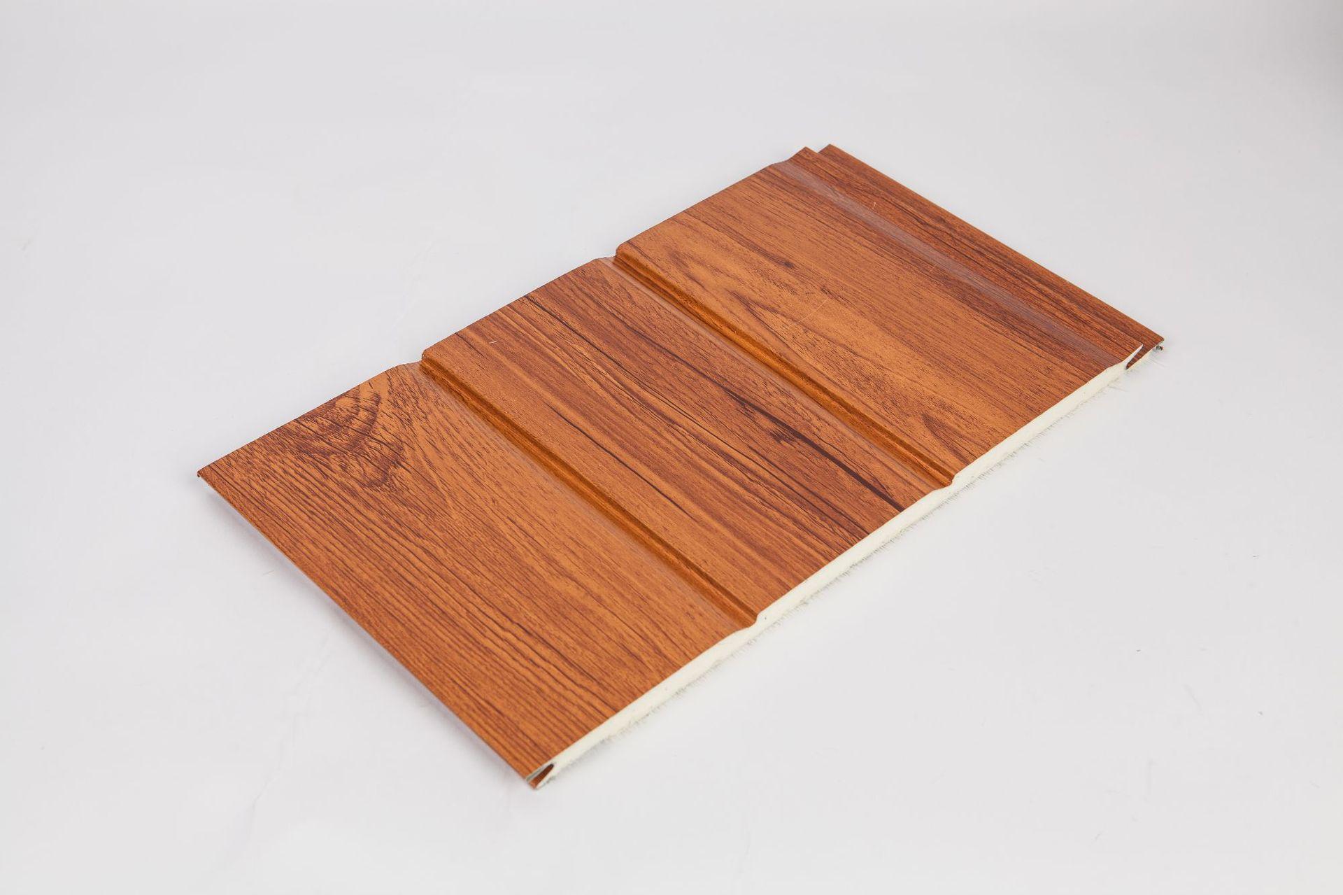 木纹金属雕花板