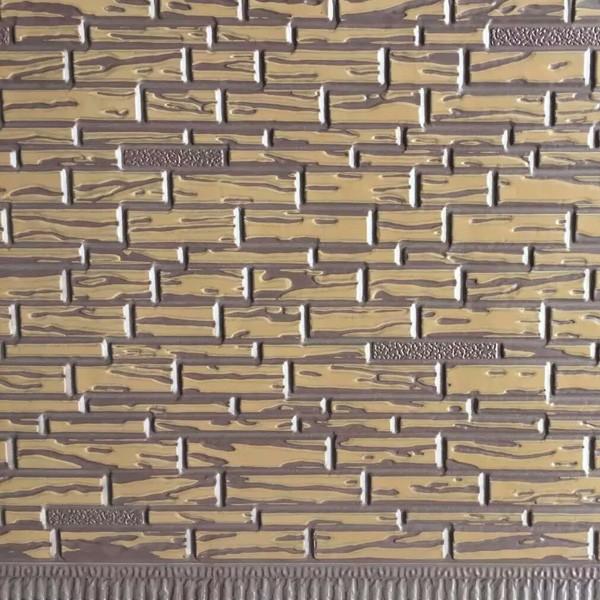 安丘叠石纹金属雕花板
